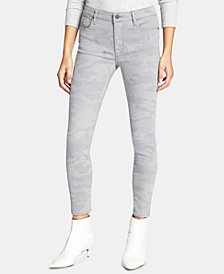 Sanctuary Social Standard Camo Skinny Ankle Jeans