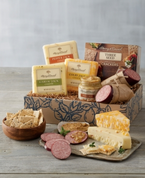 Harry & David Deluxe Meat and Cheese Gift
