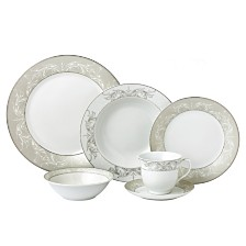 Lorren Home Trends Olympia Mix and Match 24-Pc. Dinnerware Set, Service for 4