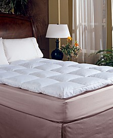 Blue Ridge 233 Thread Count Cotton 2 Inch Gusseted Featherbed Collection