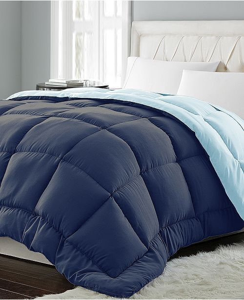 Blue Ridge Reversible Down Alternative Comforter Collection