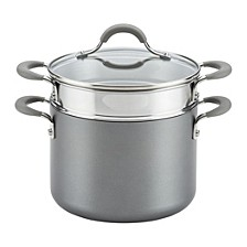 Elementum Hard-Anodized Nonstick 5 Qt Covered Multipot with Steamer Insert