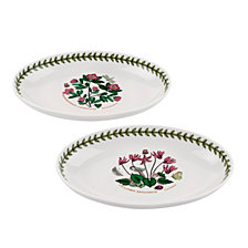 Portmeirion Botanic Garden Oval Dishes, Set of 2