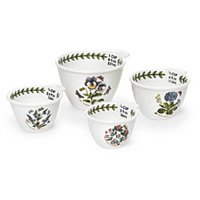 Portmeirion Botanic Garden Measuring Cups, Set of 4