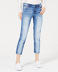 STS Blue Cara Cropped Straight-Leg Jeans