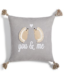 "Lacourte You and Me 20""x20"" Decorative Pillow"