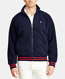 Polo Ralph Lauren Men's Big & Tall Fleece Track Jacket