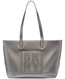 DKNY Tilly Stacked Logo Top Zip Tote, Created for Macy's