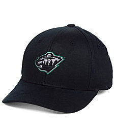 Outerstuff Boys' Minnesota Wild Color Pop Flex Stretch Fitted Cap