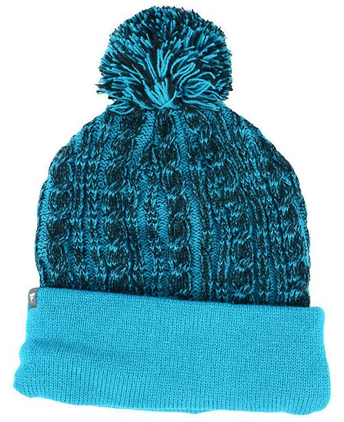 pretty nice bc25b 429fb Authentic NHL Headwear Women s San Jose Sharks Iconic Ace Knit Hat ...
