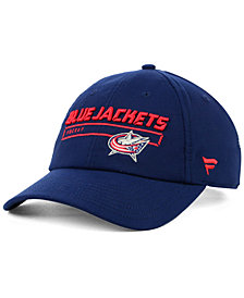 Authentic NHL Headwear Columbus Blue Jackets Rinkside Fundamental Adjustable Cap