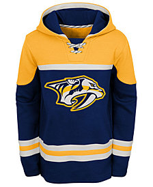 Outerstuff Nashville Predators Asset Hoodie, Big Boys (8-20)