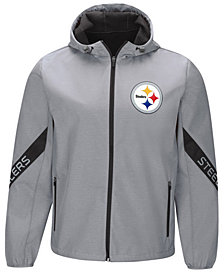 G-III Sports Men's Pittsburgh Steelers Crossover Soft Shell Jacket