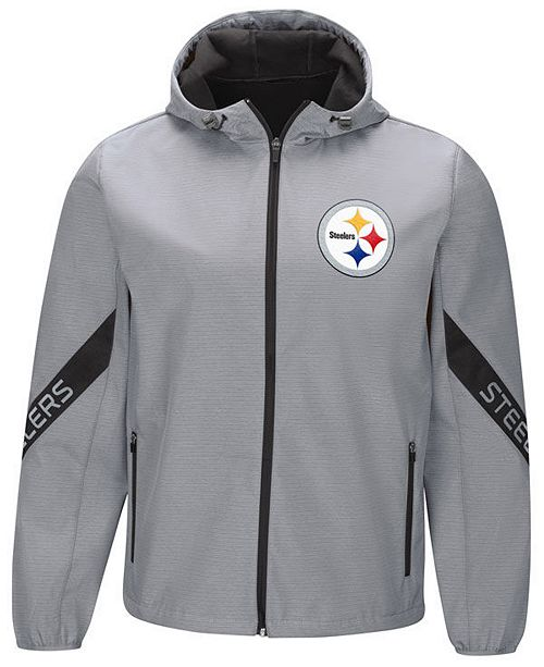 G-III Sports Men s Pittsburgh Steelers Crossover Soft Shell Jacket ... a684e3598