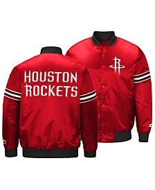 G-III Sports Men's Houston Rockets Draft Pick Starter Satin Jacket