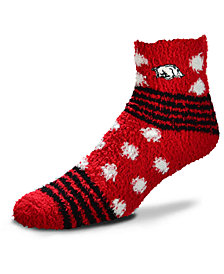 For Bare Feet Arkansas Razorbacks Homegater Sleep Soft Socks
