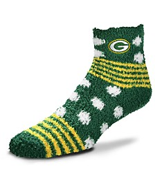 For Bare Feet Green Bay Packers Homegater Sleep Soft Socks
