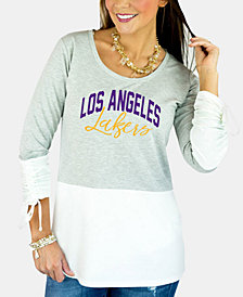Gameday Couture Women's Los Angeles Lakers Embellished Tunic Top