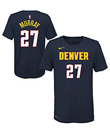 Nike Jamal Murray Denver Nuggets Icon Name and Number T-Shirt, Big Boys (8-20)