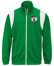 G-III Sports Men's Boston Celtics Clutch Time Track Jacket