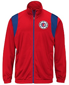G-III Sports Men's Los Angeles Clippers Clutch Time Track Jacket