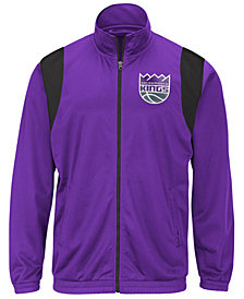 G-III Sports Men's Sacramento Kings Clutch Time Track Jacket
