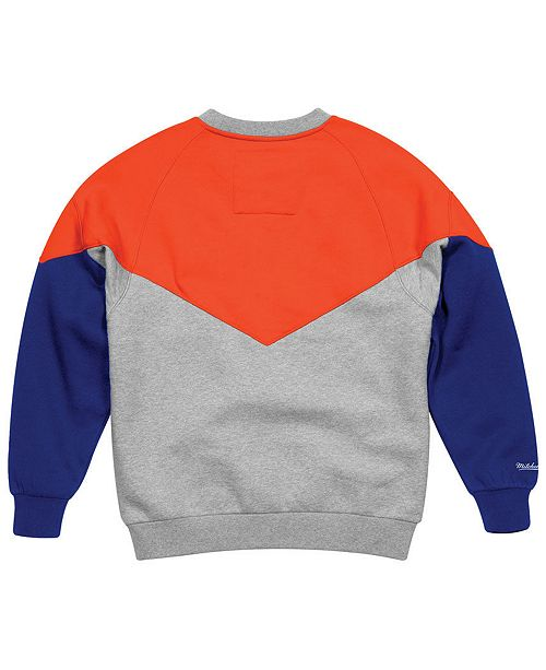 dadbbe9ad Mitchell & Ness Men's New York Knicks Trading Block Crew Sweatshirt ...