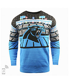 Forever Collectibles Men's Carolina Panthers Bluetooth Sweater