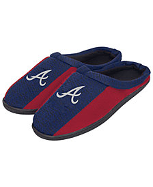 Forever Collectibles Atlanta Braves Knit Cup Sole Slippers