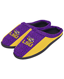 Forever Collectibles LSU Tigers Knit Cup Sole Slippers