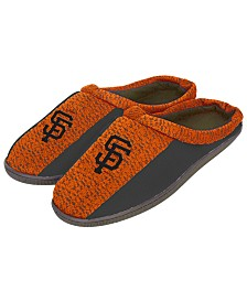 Forever Collectibles San Francisco Giants Knit Cup Sole Slippers