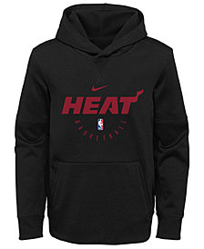 Nike Miami Heat Spotlight Hoodie, Big Boys (8-20)