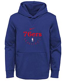 Nike Philadelphia 76ers Spotlight Hoodie, Big Boys (8-20)
