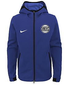 Nike New York Knicks Showtime Hooded Jacket, Big Boys (8-20)