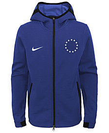 Nike Philadelphia 76ers Showtime Hooded Jacket, Big Boys (8-20)