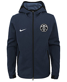 Nike Denver Nuggets Showtime Hooded Jacket, Big Boys (8-20)