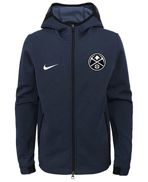 131c0736705 ... Nike Denver Nuggets Showtime Hooded Jacket
