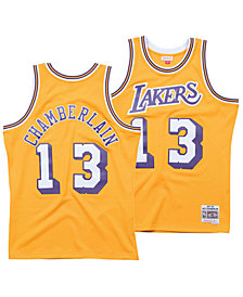 Mitchell & Ness Men's Wilt Chamberlain Los Angeles Lakers Hardwood Classic Swingman Jersey