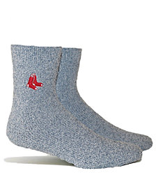 PKWY Boston Red Sox Parkway Team Fuzzy Socks