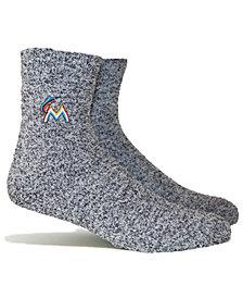 PKWY Miami Marlins Parkway Team Fuzzy Socks