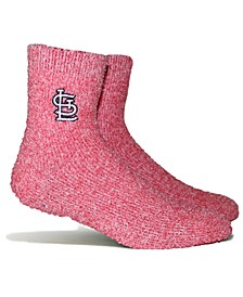 St. Louis Cardinals Parkway Team Fuzzy Socks