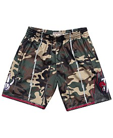 Mitchell & Ness Men's Toronto Raptors Woodland Camo Swingman Shorts