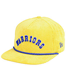 New Era Golden State Warriors Hardwood Classic Nights Cords 9FIFTY Snapback Cap