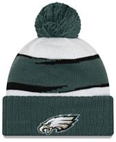big sale 03100 25da9 New Era Philadelphia Eagles Thanksgiving Pom Knit Hat