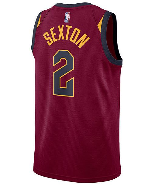a6b57045a53 ... Nike Collin Sexton Cleveland Cavaliers Icon Swingman Jersey, Big Boys  (8-20) ...