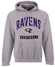 Authentic NFL Apparel Men's Baltimore Ravens Gym Class Hoodie