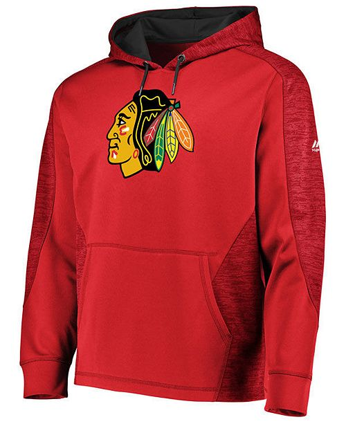 Majestic Men's Chicago Blackhawks Armor Streak Hoodie