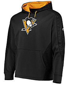 Majestic Men's Pittsburgh Penguins Armor Streak Hoodie