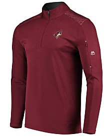 Majestic Men's Arizona Coyotes Ultra Streak Half-Zip Pullover