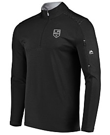 Majestic Men's Los Angeles Kings Ultra Streak Half-Zip Pullover